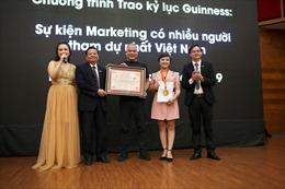 'Bùng nổ doanh số trên Internet' được xác lập Kỉ lục Việt Nam