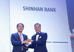 Ngân hàng Shinhan nhận giải thưởng 'Nơi làm việc tốt nhất châu Á 2019'