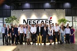 Lãnh đạo Chính phủ Thụy Sỹ thăm Nhà máy Nestlé Việt Nam