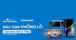 Shopee và Samsung công bố hợp tác mở rộng tiếp cận người dùng