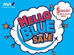 """Hãng hàng không ANA với chương trình """"Hello Blue Sale"""""""
