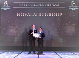Novaland Group đạt giải Best Developer Vietnam tại Dot Property Vietnam Awards 2019