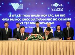 Quỹ Phát triển Đại học Quốc gia TP.HCM tiếp nhận tài trợ 10 tỷ đồng  từ Novaland