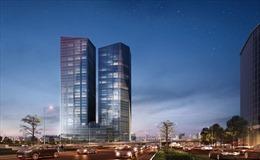 Hà Nội sắp có tòa tháp đôi văn phòng Capital Place cao 37 tầng