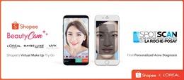L'Oréal và Shopee ra mắt ứng dụng làm đẹp và chăm sóc da trên nền tảng AI và AR