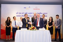 Prudential hợp tác với PVcomBank phân phối các giải pháp tài chính