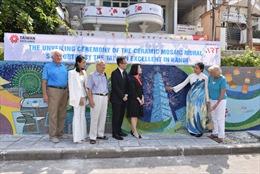 Khánh thành tranh gốm Đài Loan trên Con đường gốm sứ