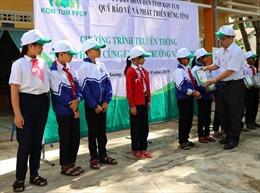 Kon Tum: Tuyên truyền chính sách bảo vệ rừng đến học sinh