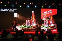 Bia Saigon thay đổi diện mạo mới