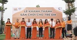 Chiến dịch FoxSteps FPT Telecom trao tặng sân chơi cho trẻ em toàn quốc