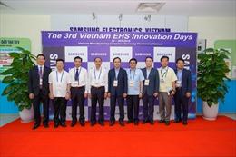 Đại hội Đổi mới An toàn Môi trường Samsung lần thứ 3: Lan tỏa văn hóa đổi mới an toàn  vì một môi trường làm việc lành mạnh