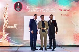 TST tourist đạt giải TTG Travel Awards 2019