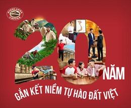 Highlands Coffee công bố chiến dịch '20 năm – Gắn kết niềm tự hào Đất Việt'