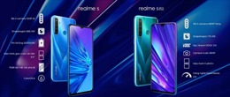 Bộ đôi smartphone đầu tiên có 4 camera của Realme mở bán tại Việt Nam