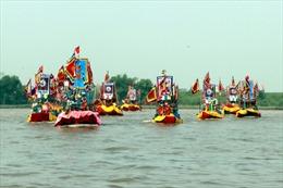 """""""Hùng khí Lục Đầu giang"""", một điểm nhấn độc đáo của Lễ hội mùa thu Côn Sơn - Kiếp Bạc"""