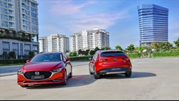 Ra mắt  bộ đôi Mazda 3 và Mazda3 Sport