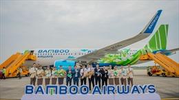 Bamboo Airways đón máy bay Airbus A320neo đầu tiên 'Fly Green'