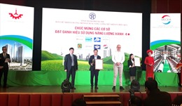 MM Mega Market Thăng Long đạt danh hiệu Năng Lượng Xanh Hà Nội 2019