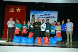 Tân Hiệp Phát đồng hành tặng quà Tết, khám bệnh, cấp thuốc cho bà con huyện Hớn Quản, tỉnh Bình Phước