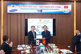 Samsung tiếp tục hỗ trợ doanh nghiệp Việt Nam nâng cao năng lực cạnh tranh