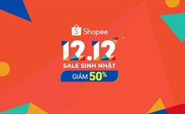700.000 sản phẩm được bán ra trong một giờ đầu tiên trong sự kiện Shopee 12.12 Sale Sinh nhật