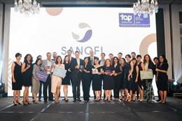 Sanofi Việt Nam 2 năm liền được vinh danh là nhà tuyển dụng hàng đầu