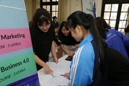 Học viện Phụ nữ Việt Nam: Sinh viên được hỗ trợ cơ hội tìm kiếm việc làm