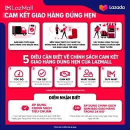 Lazada ra mắt dịch vụ cam kết giao hàng đúng hạn đầu tiên tại Đông Nam Á