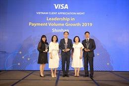 Ngân hàng Shinhan đón nhận 3 giải thưởng lớn từ Visa năm 2019