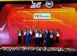 TST tourist lọt Top 10 công ty du lịch lữ hành uy tín năm 2019