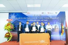 Trường đại học Việt Đức số hóa hệ thống quản lý