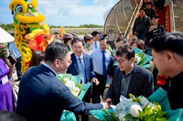 Bamboo Airways đón chuyến bay Cheongju (Hàn Quốc) – Quy Nhơn đầu tiên