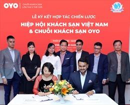 Chuỗi khách sạn OYO trở thành thành viên của Hiệp hội khách sạn Việt Nam