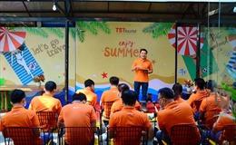 Hướng dẫn viên TST Tourist chủ động phòng dịch và đào tạo