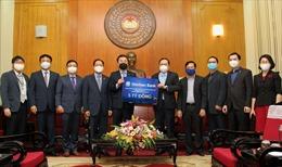 Ngân hàng Shinhan ủng hộ 5 tỷ đồng chống COVID-19