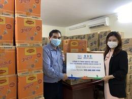 Nestlé Việt Nam hỗ trợ sản phẩm dinh dưỡng cho công tác chống dịch COVID-19