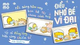 """Ví MoMo tung MV """"Điều nhỏ bé vĩ đại"""" kêu gọi ủng hộ, cổ vũ cho Chiến sĩ áo trắng"""
