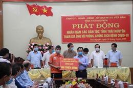 MSR tích cực chung tay cùng tỉnh Thái Nguyên phòng, chống dịch COVID-19