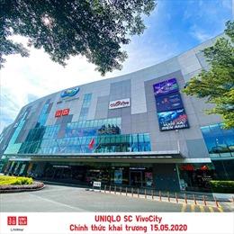 UNIQLO khai trương cửa hàng thứ 2 tại TP Hồ Chí Minh vào ngày 15/5
