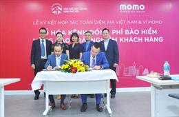 Ví MoMo và AIA hợp tác mở kênh đóng phí bảo hiểm