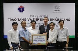 Nestlé Việt Nam ủng hộ Bộ Y tế 88.000 khẩu trang chống dịch COVID-19