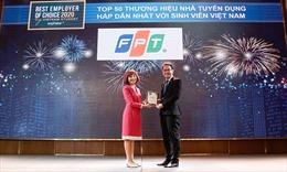 FPT là nhà tuyển dụng hấp dẫn nhất trong lĩnh vực CNTT với sinh viên Việt Nam