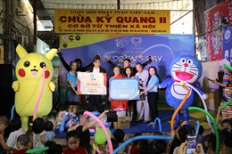 V.I.S tổ chức chương trình Tết thiếu nhi cho trẻ em có hoàn cảnh khó khăn