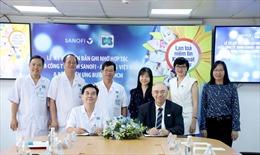 Bệnh viện Ung Bướu TP Hồ Chí Minh hợp tác với công ty Sanofi-Aventis Việt Nam
