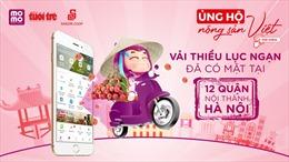 Vải thiều Lục Ngạn 'đến' Hà Nội và giảm giá vận chuyển tại TP.HCM
