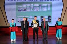 Herbalife Việt Nam nhận giải 'Sản phẩm vàng vì Sức khỏe cộng đồng'