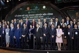 """Nestlé và AB InBev tại Việt Nam được vinh danh """"Top 100 DN phát triển bền vững năm 2020"""""""