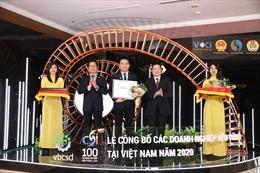 Herbalife Việt Nam - Top 100 Doanh nghiệp Bền vững Việt Nam 2020