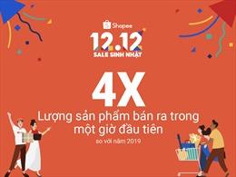 Shopee khởi đầu sự kiện 12.12 Sale Sinh Nhật đầy ấn tượng