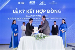 Tập đoàn IHG mở rộng thương hiệu Crowne Plaza ở khu vực miền Trung